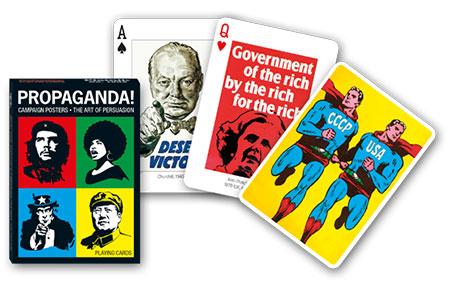 Spielkarten - Propaganda