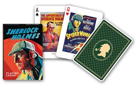 Spielkarten -Sherlock Holmes