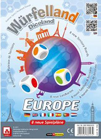 Würfelland - Europa - Zusatztableaus