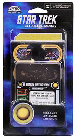 Star Trek Attack Wing - Hirogen Warship Card Pack
