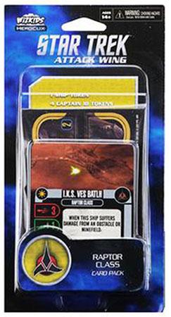 Star Trek Attack Wing - Raptor Class Card Pack