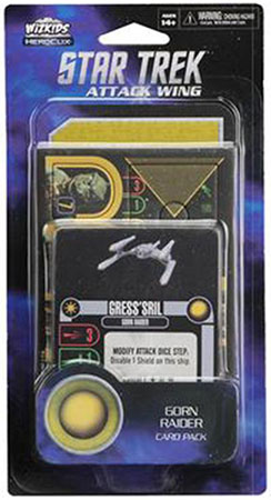 Star Trek Attack Wing - Gorn Raider Card Pack