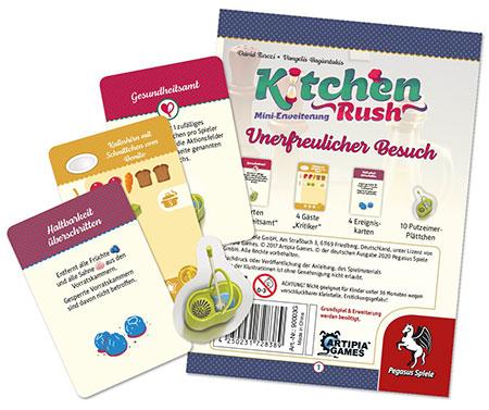 Kitchen Rush - Unerfreulicher Besuch Mini-Erweiterung