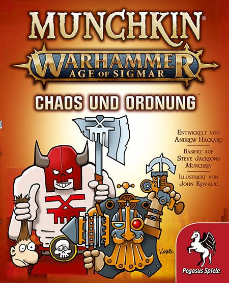 Munchkin Warhammer 40.000 - Age of Sigmar - Chaos & Ordnung Erweiterung