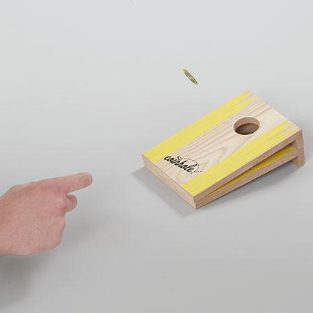 Coinhole - Das Münzen versenken Spiel