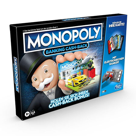 Monopoly Banking - Cash Back