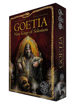 Goetia - Nine Kings of Solomon (engl.)