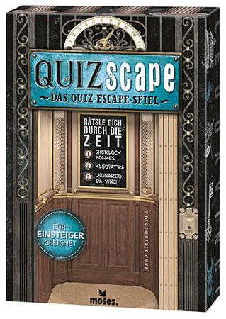 QUIZscape – Rätsle dich durch die Zeit