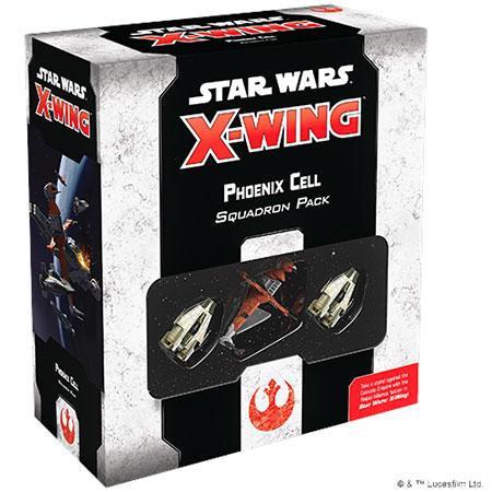 Star Wars: X-Wing 2.Ed. - Phönix-Staffel Erweiterungspack