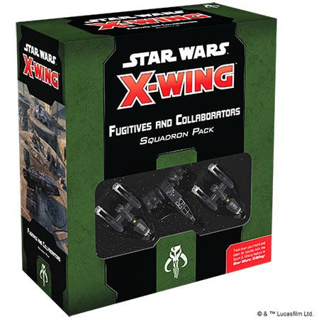 Star Wars: X-Wing 2.Ed. - Gesuchte + Kollaborateure Erweiterungspack