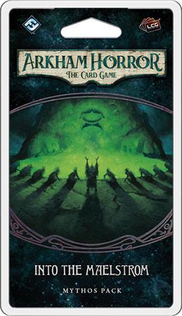 Arkham Horror - das Kartenspiel - In den Mahlstrom hinein Mythos-Pack (Innsmouth 6)
