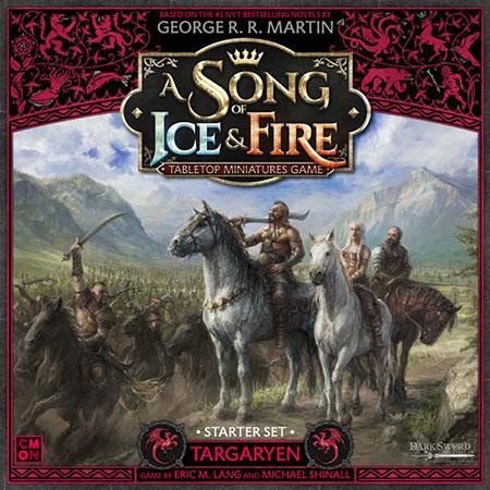 A Song of Ice & Fire - Targaryen Starterset - Grundspiel