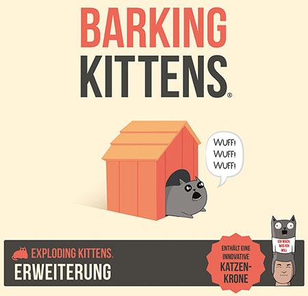 Exploding Kittens - Barking Kittens Erweiterung