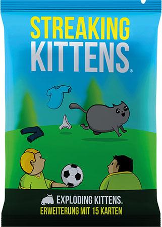 Exploding Kittens - Streaking Kittens Erweiterung