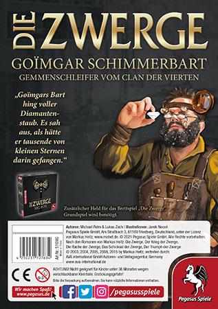 Die Zwerge - Charakterpack: Goimgar Erweiterung