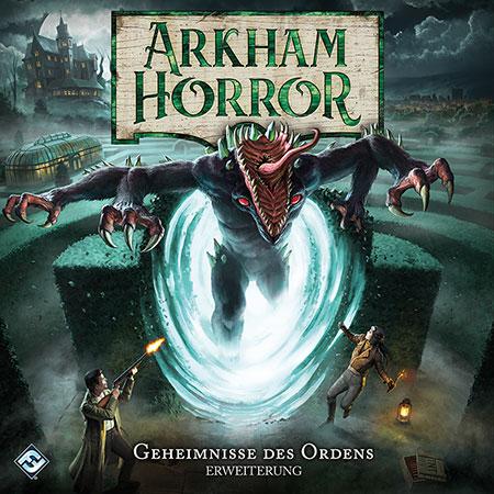 Arkham Horror 3.Ed. - Geheimnisse des Ordens Erweiterung