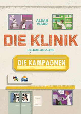 Klinik - Deluxe Edition: Das Kampagnenbuch