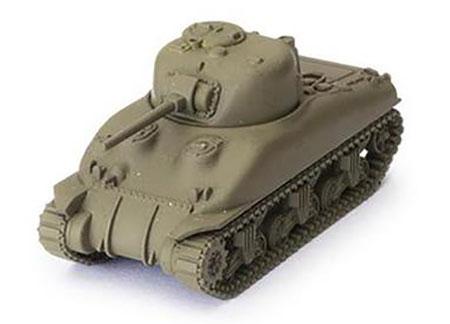 World of Tanks - Das Miniaturenspiel - M4A1 Sherman Erweiterung (American) (Wave 2)
