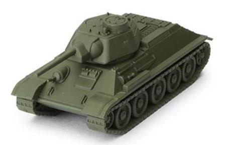 World of Tanks - Das Miniaturenspiel - T-34 Erweiterung (Soviet) (Wave 2)