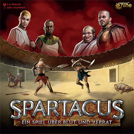 Spartacus - Ein Spiel über Blut und Verrat (dt.)