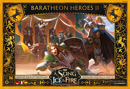 A Song of Ice & Fire - Baratheon Heroes #2 Erweiterung