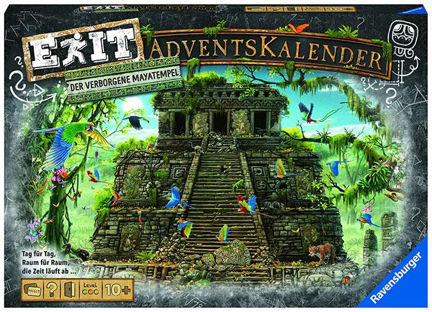 Exit Adventskalender 2021 - Mayatempel