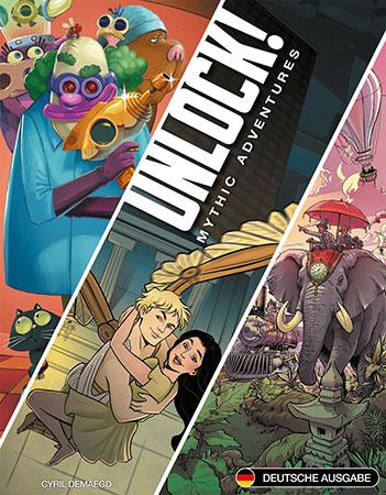 Unlock! - Mythic Adventures (Box 8)