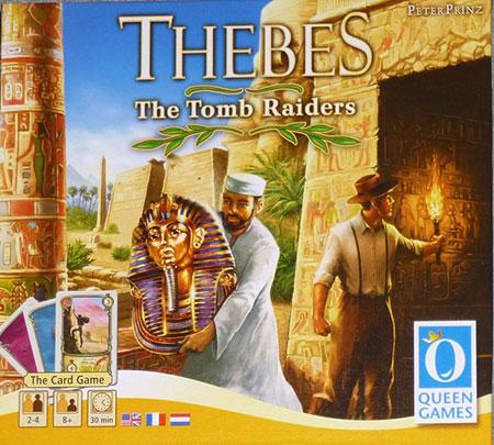 Jenseits von Theben - Die Grabräuber (Kartenspiel)(engl.)