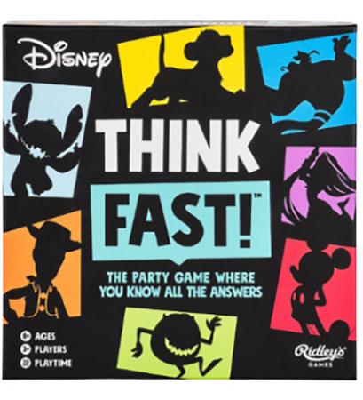 Disney Think Fast Trivia (engl.)