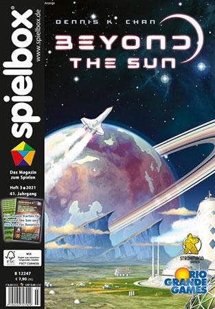 Spielbox 03/2021 inkl. Sonderkarten Beyond the Sun