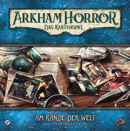 Arkham Horror - Das Kartenspiel - Am Rande der Welt - Ermittler Erweiterung