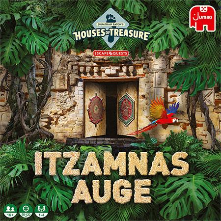 Jonathan Eaton Houses of Treasure - Escape Quest - Itzamnas Auge