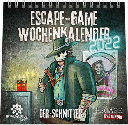 Escape Game - Wochenkalender 2022: Der Schnitter