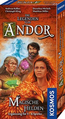 Die Legenden von Andor - Magische Helden Erweiterung