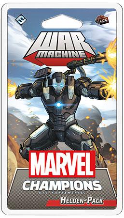 Marvel Champions - Das Kartenspiel - War Machine Erweiterung
