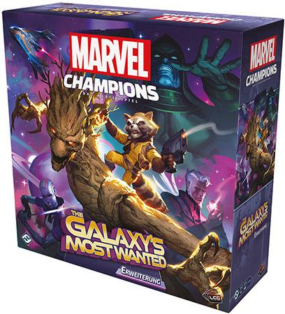 Marvel Champions - Das Kartenspiel - Galaxy´s Most Wanted Erweiterung
