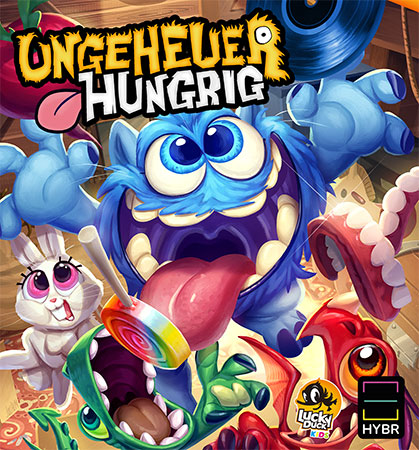 Ungeheuer Hungrig