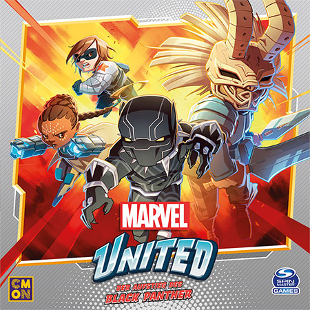 Marvel United - Aufstieg des Black Panther Erweiterung