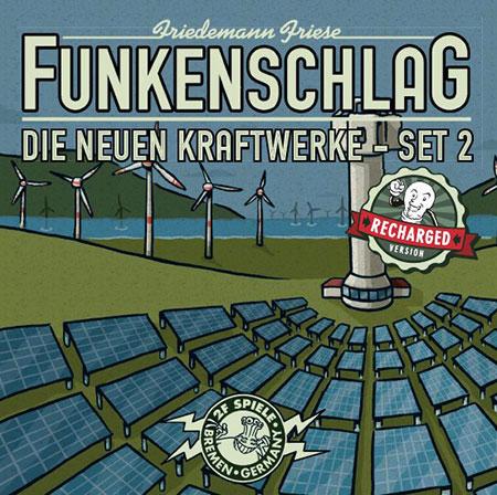 Funkenschlag - Erweiterung Die neuen Kraftwerke - Set 2 (Recharged Version)