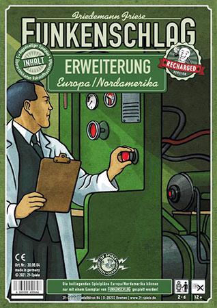 Funkenschlag - Erweiterung Europa/Nordamerika (Recharged Version)