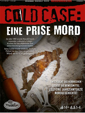 ColdCase – Eine Prise Mord
