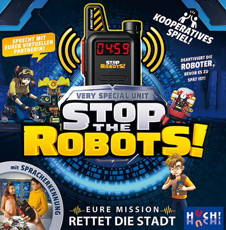 Stop the Robots - Very Special Unit!