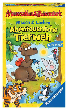 Mauseschlau&Bärenstark Wissen und Lachen - Abenteuerliche Tierwelt