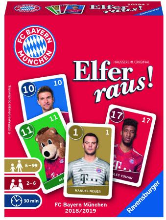 Elfer raus! - Bayern München Saison 2018/2019