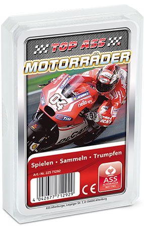 TOP ASS - Motorräder Quartett