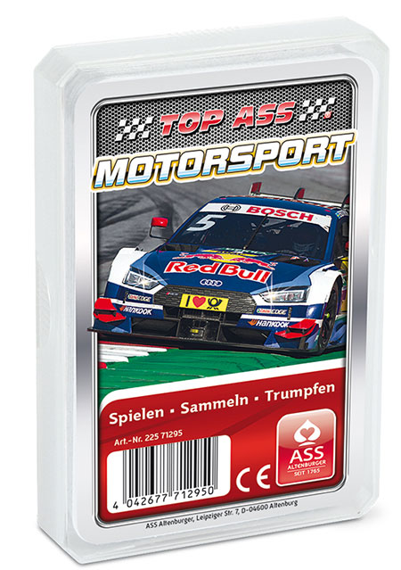 TOP ASS - Motorsport Quartett