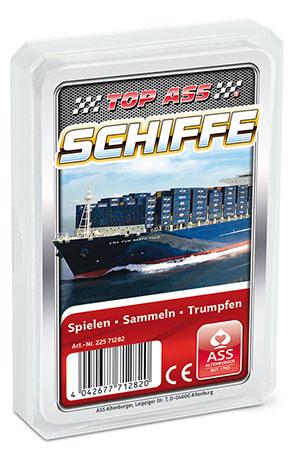 TOP ASS - Schiffe Quartett