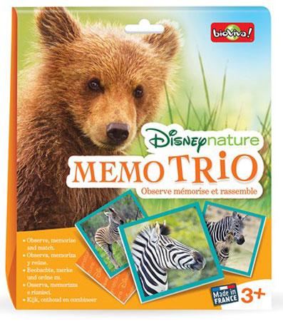 Disney Natur Memo Trio