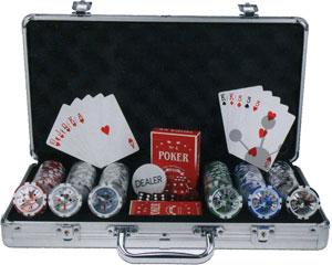 300er Pokerkoffer - Deluxe