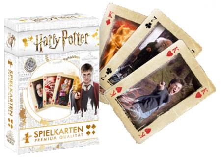 Number 1 Spielkarten - Harry Potter